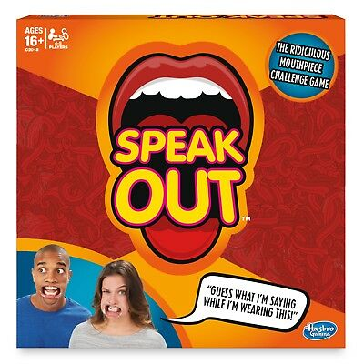 New Hasbro Speak Out Game 62442