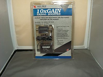 10x GAIN Stereo/TV Signal BOOSTER by Doc-Tec