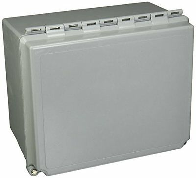 """Hoffman A1086CHSCFG NEMA 4X Enclosure, Solid Cover with Screws, 10.00"""" x 8.00"""" x"""
