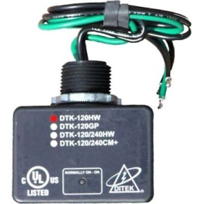 Ditek 120HW 120V AC Parallel Power Surge Protector