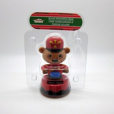 Solar Drumming Bear with Moving Eyes, New in Package