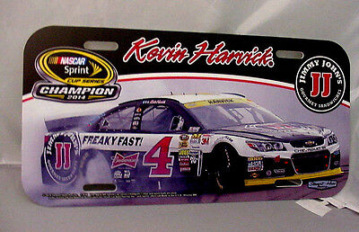 Kevin Harvick # 4 License Plate  Sprint Cup Champion 2014