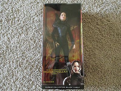 Barbie Collector- Black Label- Hunger Games Mockingjay Katniss Doll  NEW