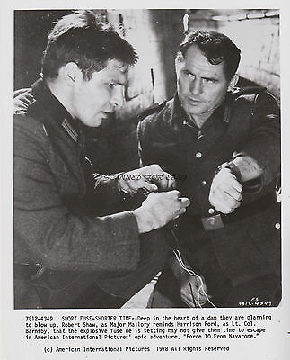 Force 10 From Navarone Robert Shaw Harrison Ford Orig 1978 Studio 8X10