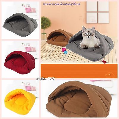 Self Heating Cat Dog Sleeping Bags Pet Animal House Warm&soft Nest Litter Kennel