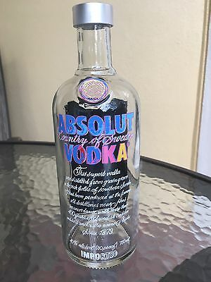 Absolut Vodka Warhol 750Ml Limited Edition Bottle - Empty - With Cap -