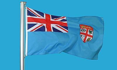FIJI FLAG 3'X5' FOOT BANNER SIGN FLAGS union jack banner new parade/Festival