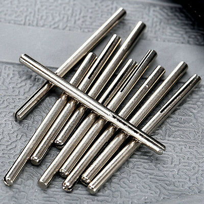 "5 Pcs Abrasive Paper Clips Split 1/8"" Mandrel Shank Rotary Tool for Rotary Tools"
