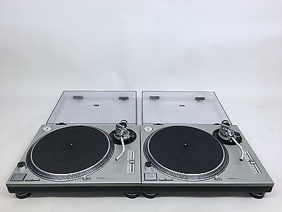 TECHNICS SL-1200 MK2 PAIR Turntables in Great Condition