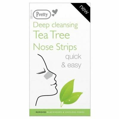 Pretty 6 Deep Cleansing Tea Tree Nose Pore Strips