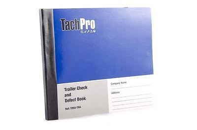 Semi Trailer Daily Defect Check Report Book 50 Duplicate Pages Artic Trailer