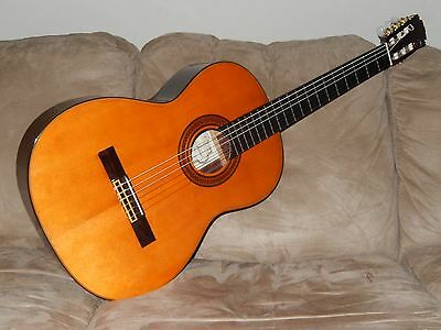 Made In 1974 Under Saburo Nogami Supervision Superb Classical Guitar Tarrega #1