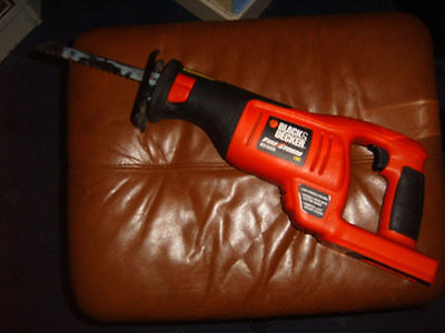 black and decker 18volt reciprocating saw. body only