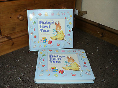 BABY'S FIRST YEAR - A Collection of Precious memories - ALBUM - CHRISTENING GIFT
