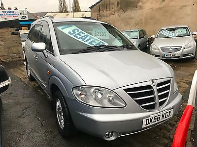 Ssangyong Rodius 2.7TD T-tronic 2007MY SX 74,000 MILES