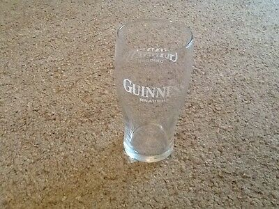 One Pint Guinness Draught Beer Glass