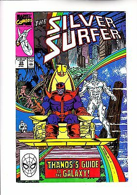 Silver Surfer 35 Thanos