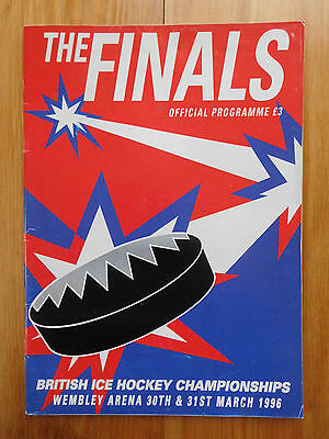 Heineken Ice Hockey Final 1996 - Sheffield / Nottingham / Durham / Humberside