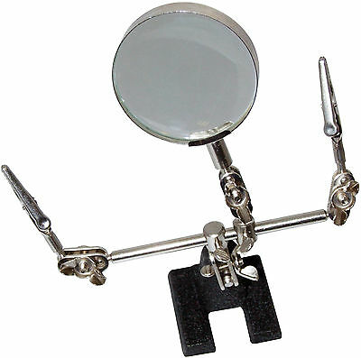 Amtech 60mm HELPING HAND MAGNIFYING GLASS