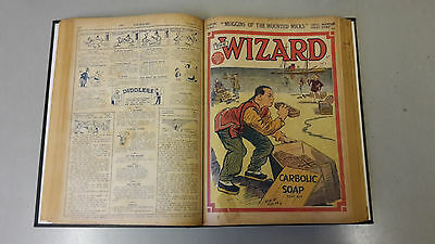 WIZARD COMIC - No. 405-421 from 1930 BOUND VOLUME  D. C. Thomson