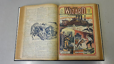 WIZARD COMIC - No. 33-54 from 1923 BOUND VOLUME  D. C. Thomson