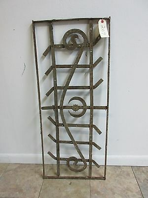 Antique Victorian Iron Gate Window Garden Fence Architectural Salvage Door #207