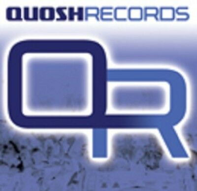 "Quosh Hardcore 12"" vinyl 8 record label pack"