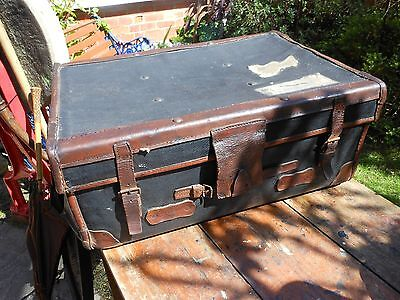 """reduced"" - Vintage Travelling Trunk"