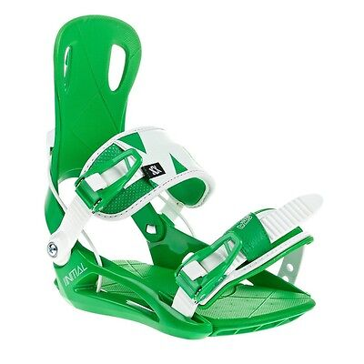 2016 Volkl Straptec Initial Green/White Large Men's Snowboard Bindings