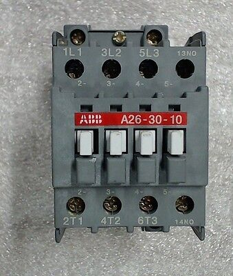 Used ABB contactor 26-30-10-51 480V 60Hz - 60 day warranty