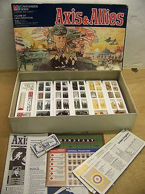 Vintage Axis and Allies board game boxed