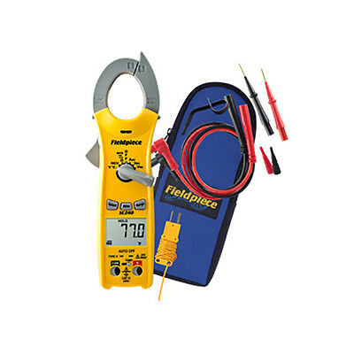 Fieldpiece SC240 Compact Clamp Meter with Temperature & Capacitance