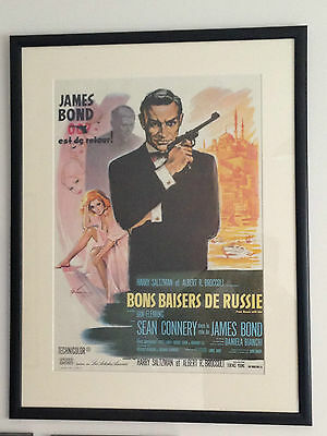 From Russia with Love Original French Film Poster James Bond 007 Sean Connery