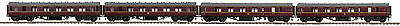 MTH LMS 4 Car Passenger Set for NEM Fine Scale 22-60060