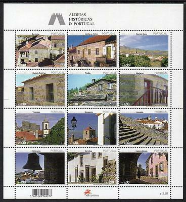 Portugal MNH 2005 Historic Villages in Portugal