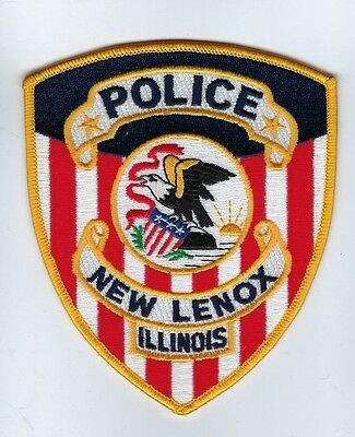 New Lenox (Will County) IL Illinois Police Dept. patch - NEW!