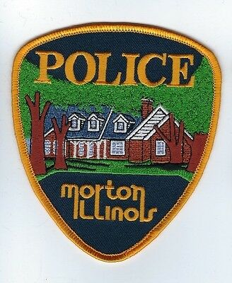 Morton (Tazewell County) IL Illinois Police Dept. patch - NEW!