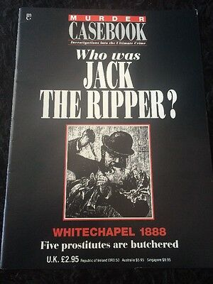 Murder Casebook Jack The Ripper Special Edition