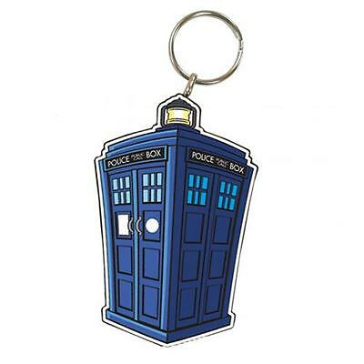 Official Licensed Product Dr Doctor Who Keyring Tardis Key Chain Fun Gift New