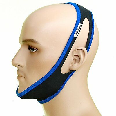 Snore Stopper Stop Snoring Chin Strap Original by Dr Sleepwell [Large Format]