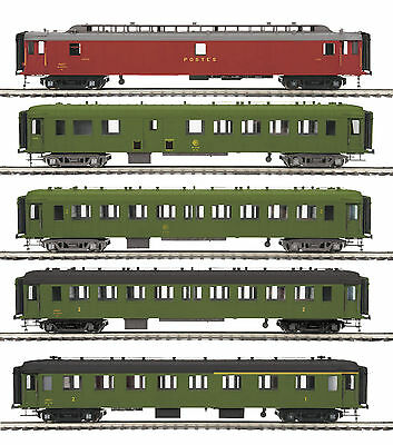"MTH OCEM SCNF 5-Car Passenger Set for 3 Rail ""O"" Gauge 20-60026"
