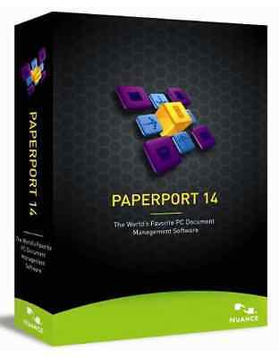 Nuance Paperport 14.0 for PC, New Retail Box - 6809A-G00-140