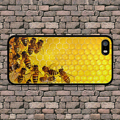 Bee Keeping Bees Honey Phone Case For Iphone 4 4S 5 5S Se 5C 6 6S 7 8 Plus X