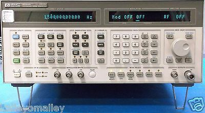 Agilent HP 8664A  0.1-3GHz Synthesized High-Performance Signal Generator Tested