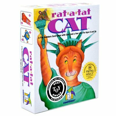 Rat-A-Tat Cat Card Game A game of Suspense Strategy & Anticipation