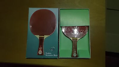 New Vintage 1979 FRIENDSHIP  Table Tennis Bat Blade TIANJIN CHINA PING-PONG