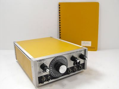 SD Systron Donner Datapulse Model 411 Function Generator + Orig Manual POWERS ON