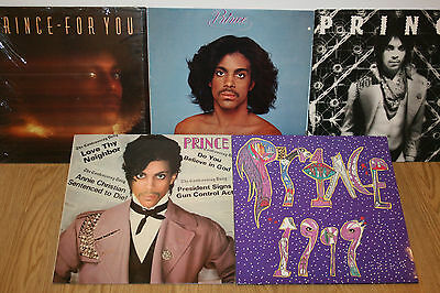 Prince Vinyl Record Collection