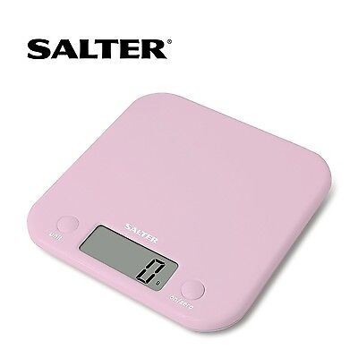 SALTER Digital Electronic KITCHEN SCALES 5kg Aquatronic Cooking Baking Scale