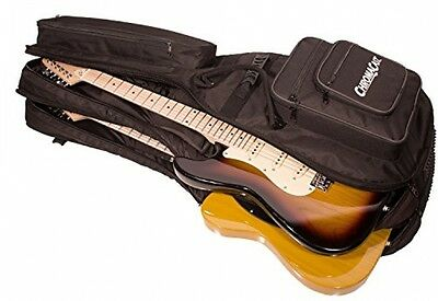 NEW ChromaCast Pro Series Double Electric Guitar Padded Gig Bag
